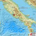Potres u Italiji (Foto: Screenshot/emsc-csem)