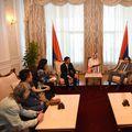 Milorad Dodik i Željka Cvijanović primili lažnog biznismena Mai Vu Minha (Foto: Predsjedništvo RS)