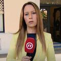 Reporterka Dnevnika Nove TV Barbara Štrbac