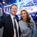 Boris Popovič sa suprugom (Foto: AFP)