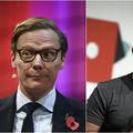 Alexander Nix i Mark Zuckerberg (Foto: AFP)
