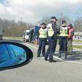 Policija na odmorištu Draganić (Foto: Dnevnik.hr)