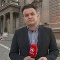 Andrija Jarak prati prosvjed u Beogradu (Foto: Dnevnik.hr)