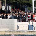 Vjenčanje Nike Perenčević i Emila Tedeschija mlađeg pred hotelom Bellevue (Foto: Goran Kovacic/PIXSELL) - 5