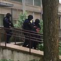 Privođenje osumnjičenog u Novom Zagrebu (Foto: dnevnik.hr)