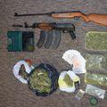 Droga i oružje u Križevcima (Foto: MUP)