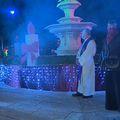 Kratki spoj na adventskoj svijeći u Splitu