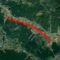 Prometna nesreća između čvorova Novska-Okučani (Foto: Google Maps)