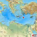 Potres na Mediteranu