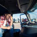 Vozač kamiona / Ilustracija