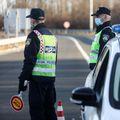 Policija na autocesti, ilustracija