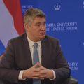 Predsjednik Milanović na predavanju na sveučilištu Columbia u New Yorku