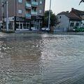 Poplavljena ulica u Zagrebu - 1