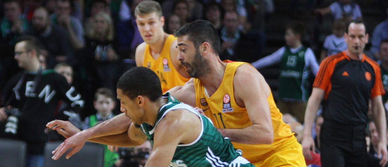Olivier Hanlan i Juan Carlos Navarro (Foto: AFP)