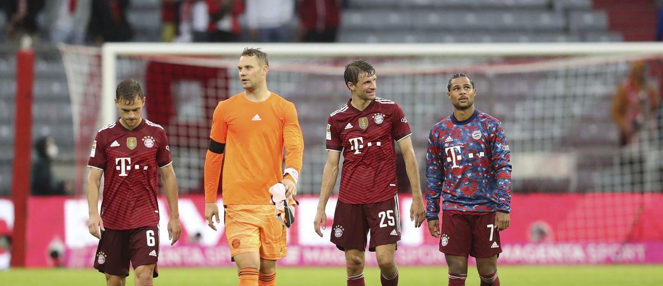 Joshua Kimmich sa suigračima iz Bayerna