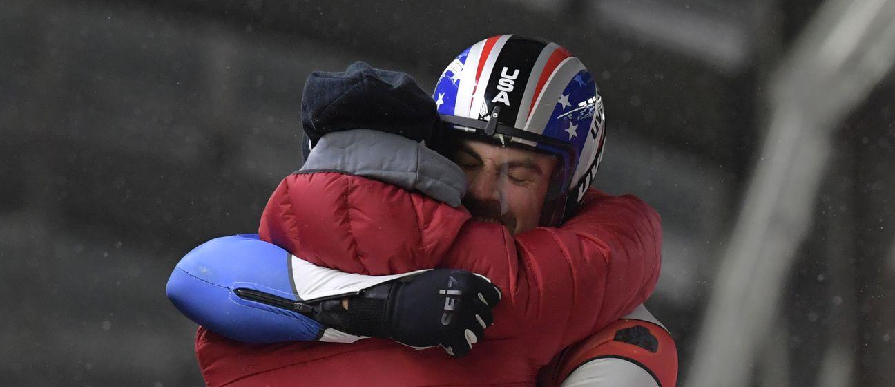 Chris Mazdzer (Foto: AFP)