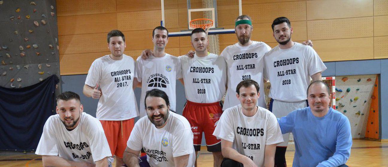 CroHoops All-Star momčad (Foto: Facebook)