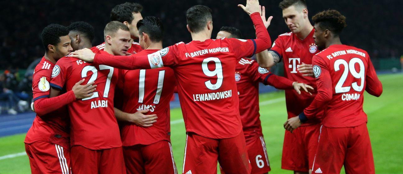 Slavlje Bayerna (Foto: Andreas Gora/DPA/PIXSELL)
