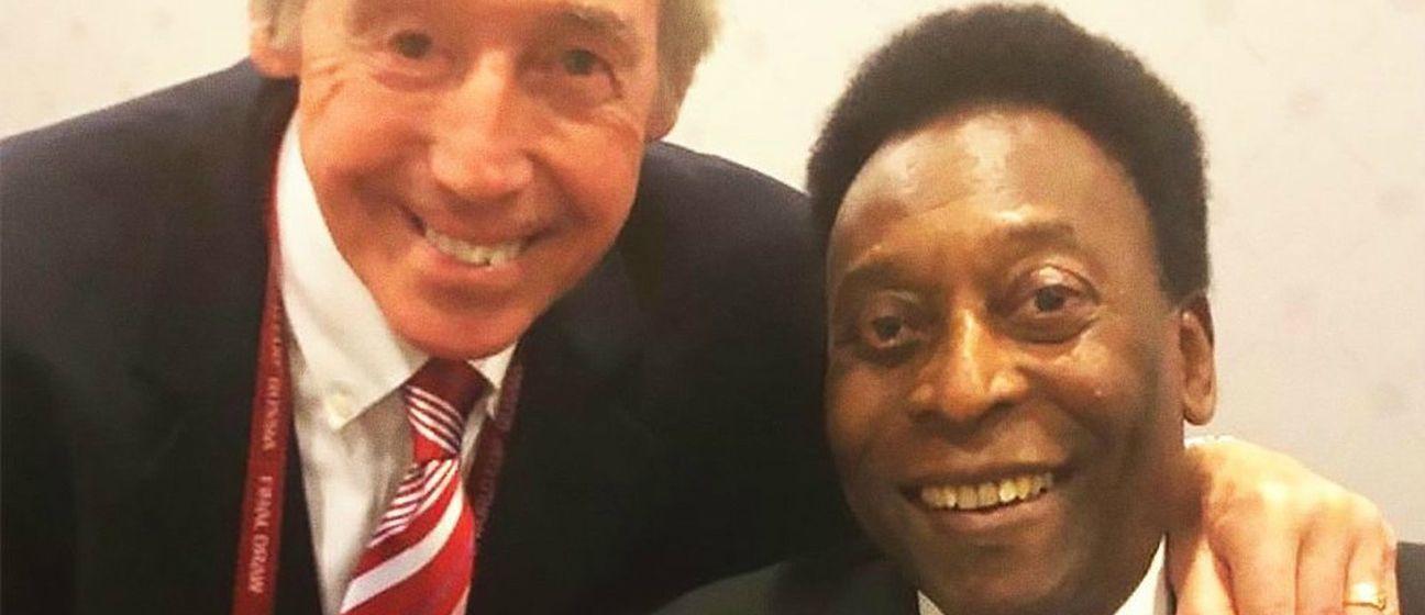Gordon Banks i Pele (Foto: Facebook)