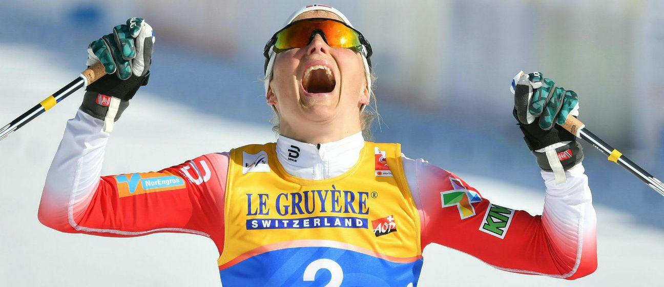 Therese Johaug (Foto: AFP)