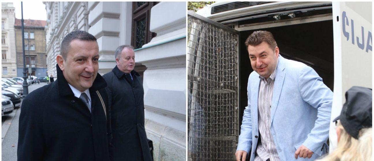 Željko Širić i Neven Šprajcer (Foto: Marko Lukunic/ Kristina Stedul Fabac/PIXSELL)