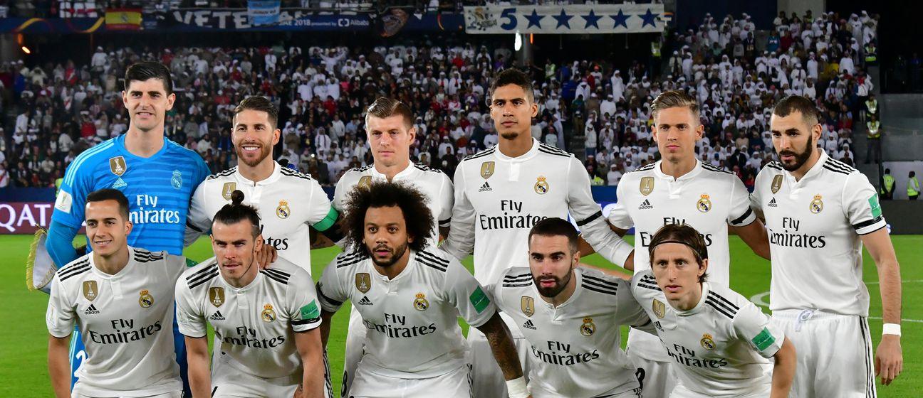 Momčad Real Madrida (Foto: AFP)