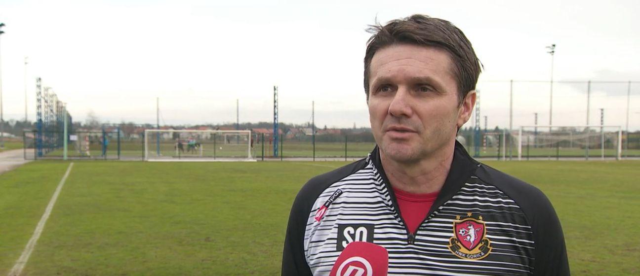 Siniša Oreščanin, trener Gorica - 1