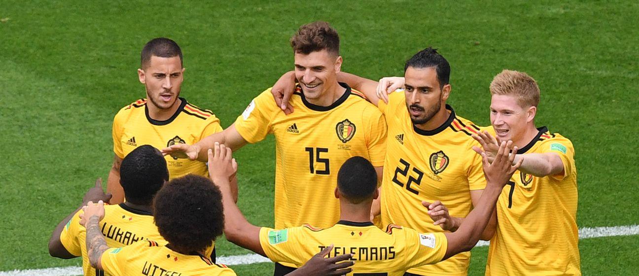 Slavlje Belgijanaca (Foto: AFP)