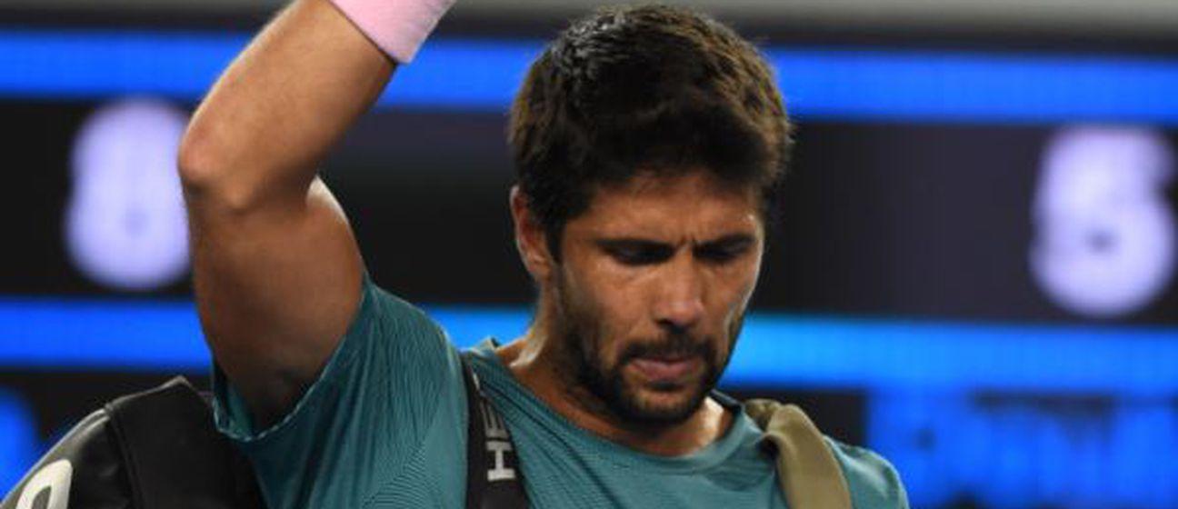 Fernando Verdasco nakon poraza od Čilića (Foto: AFP)