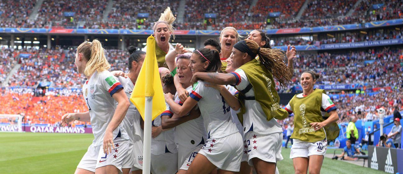 Slavlje Amerikanki (Foto: AFP)