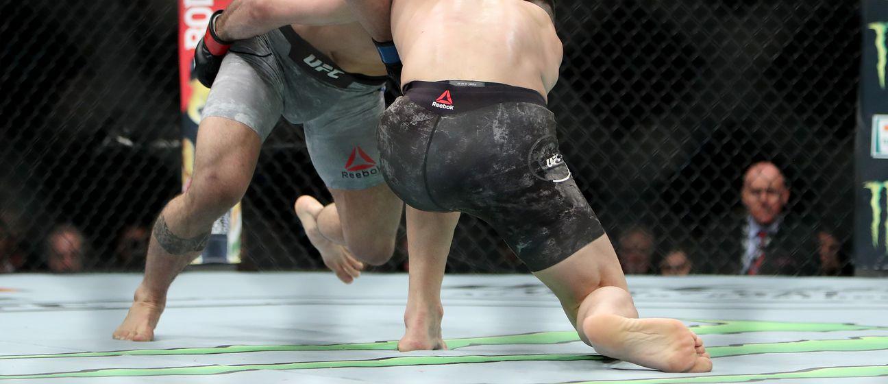 Bektić u akciji na UFC eventu (Foto: AFP)