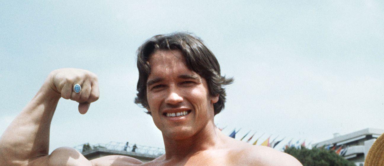 Arnold Schwarzenneger na festivalu u Cannesu 1977. godine (Foto: AFP)