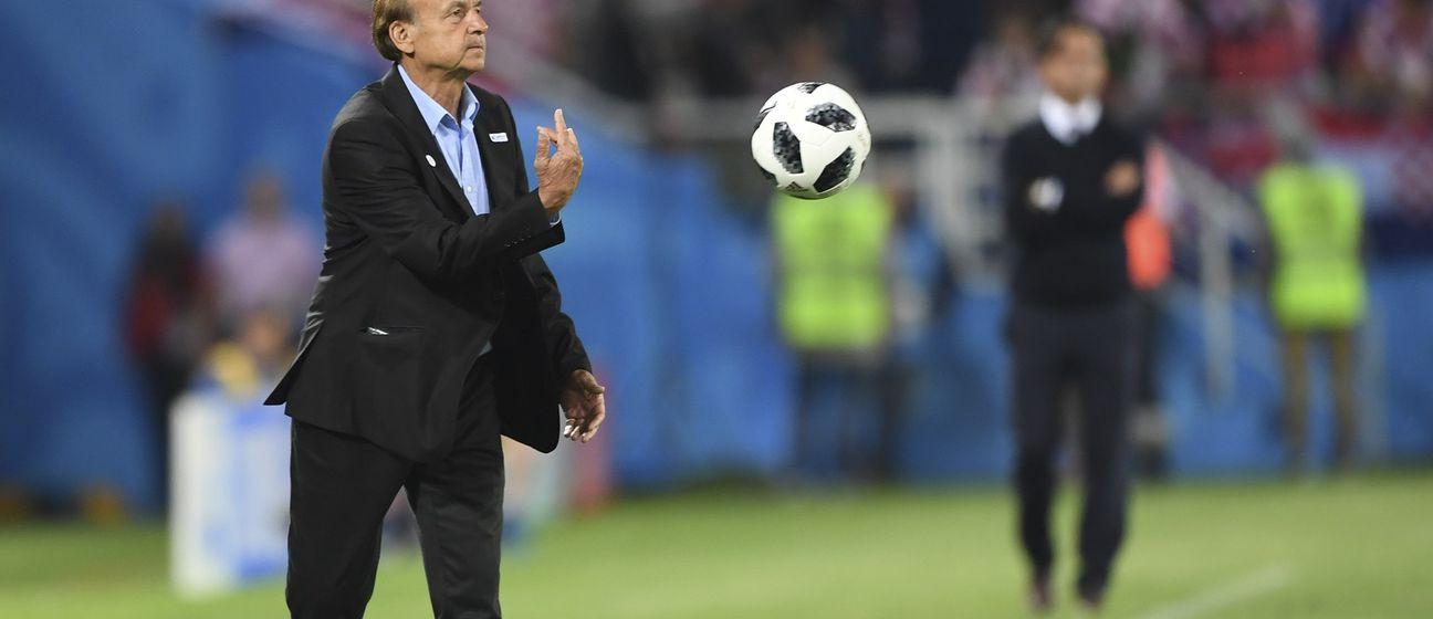Gernot Rohr (Foto: AFP)