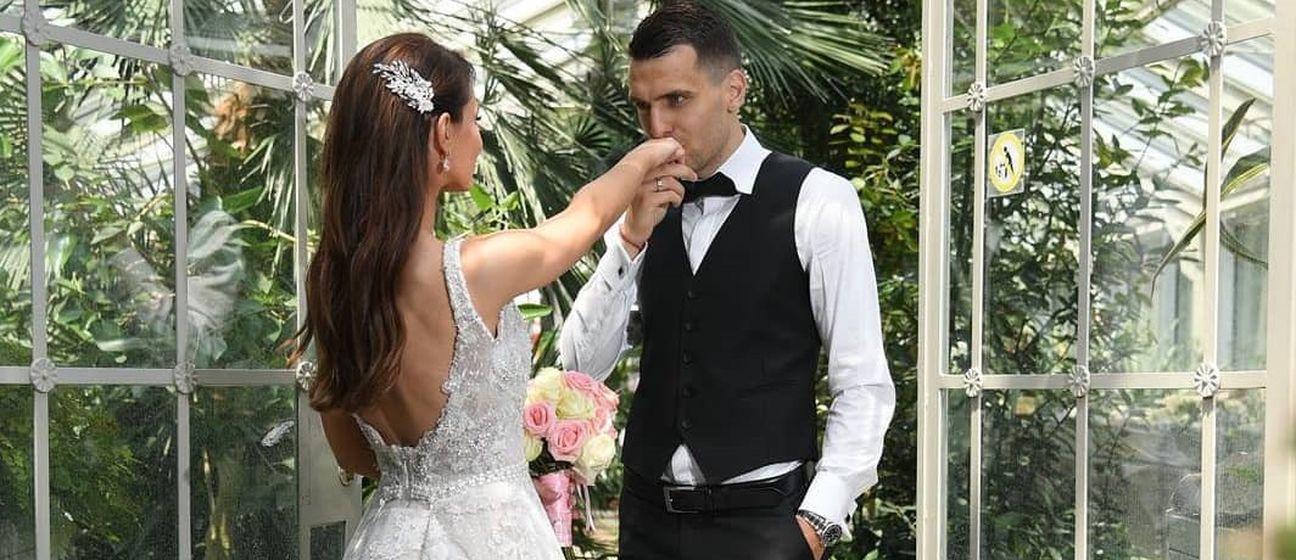 Vjenčanje Komnena Andrića (Foto: Instagram)