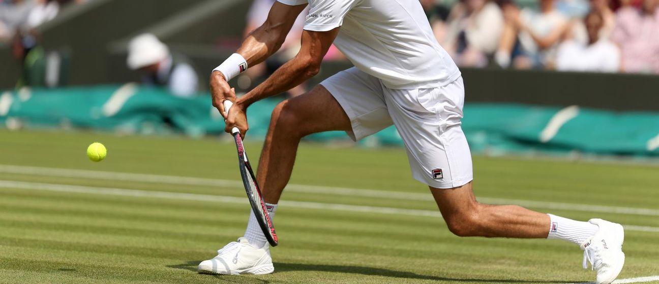 Marin Čilić u Wimbledonu (Foto: Steven Paston/Press Association/PIXSELL)