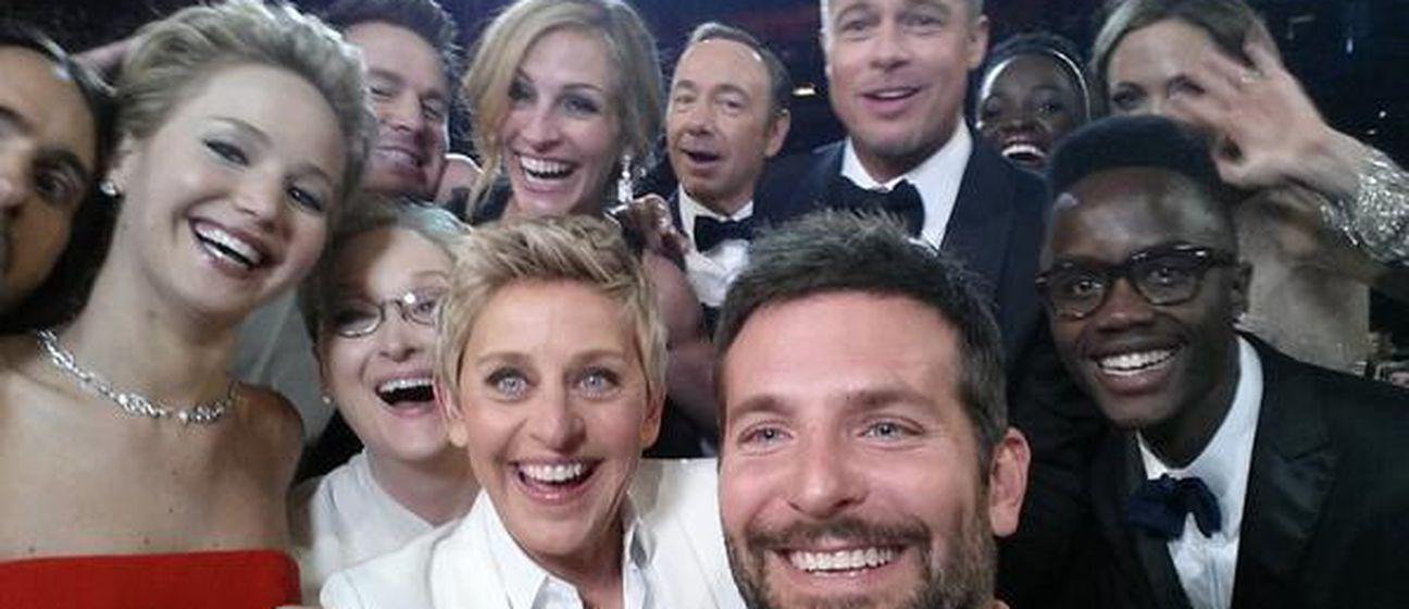 Ova slika s Oscara rekorder je po broju retvitova selfija, trenutno oko 2.3 milijuna