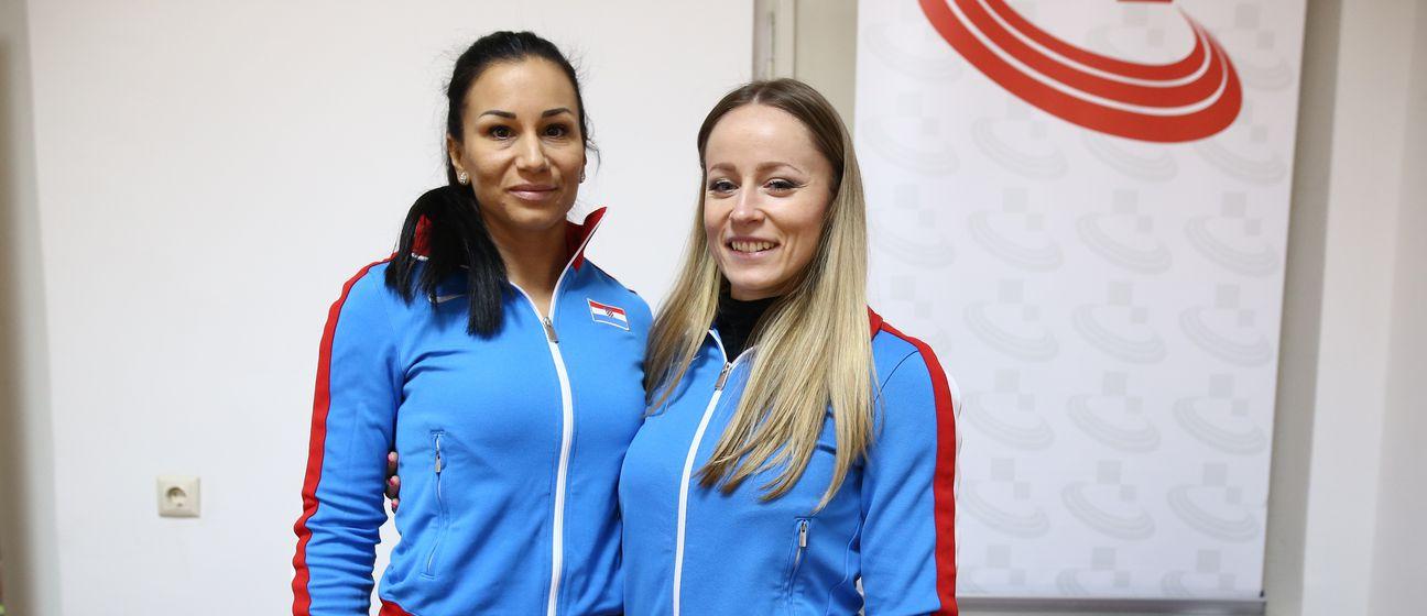 Andrea Ivančević i Ivana Lončarek (Foto: Igor Šoban/PIXSELL)