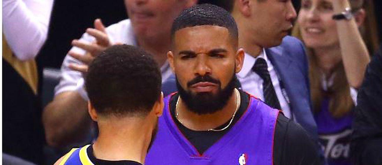 Drake u raspravi s Curryjem (Foto: AFP)