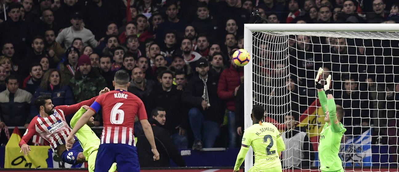 Diego Costa zabio Barceloni (Foto: AFP)