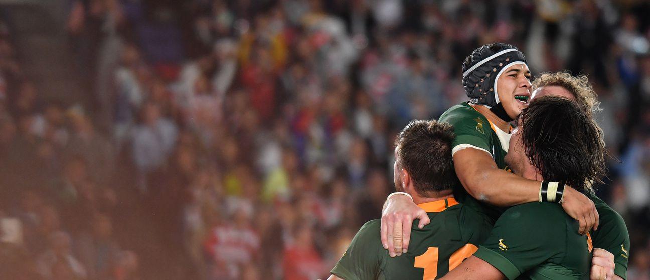 Slavlje igrača Južnoafričke Republike (Foto: AFP)