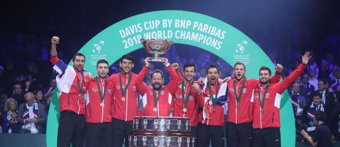 Hrvatska je 2018. osvojila Davis Cup (Foto: Sanjin Strukić/PIXSELL)