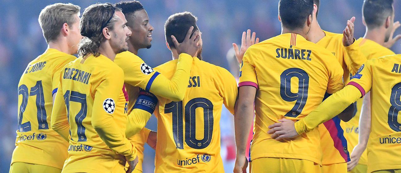 Barcelona slavi (Foto: AFP)