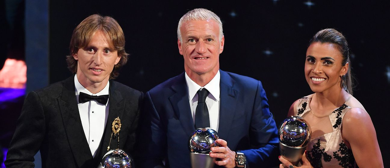 Didier Deschamps i Luka Modrić