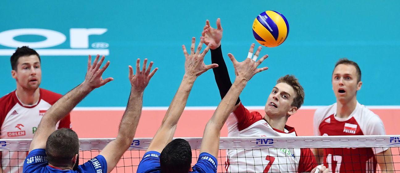 Poljska protiv Srbije na SP-u odbojci (Foto: AFP)
