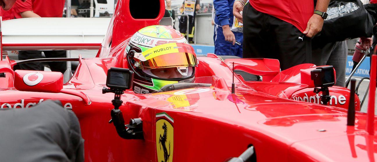 Michael Schumacher u Ferrariju (firo Sportphoto/DPA/PIXSEL)