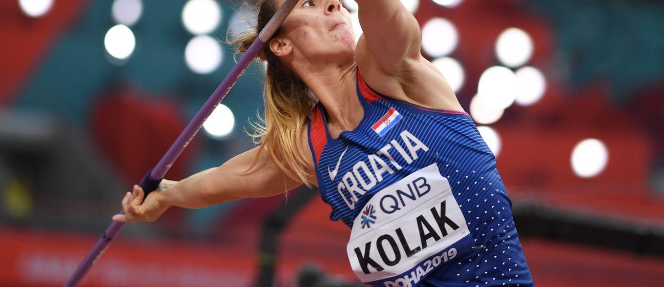 Sara Kolak (Foto: AFP)