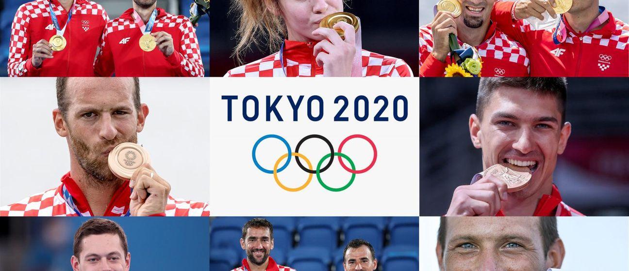 Hrvatski osvajači olimpijskih medalja na Igrama u Tokiju