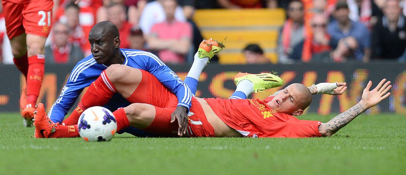 Demba Ba protiv Liverpoola