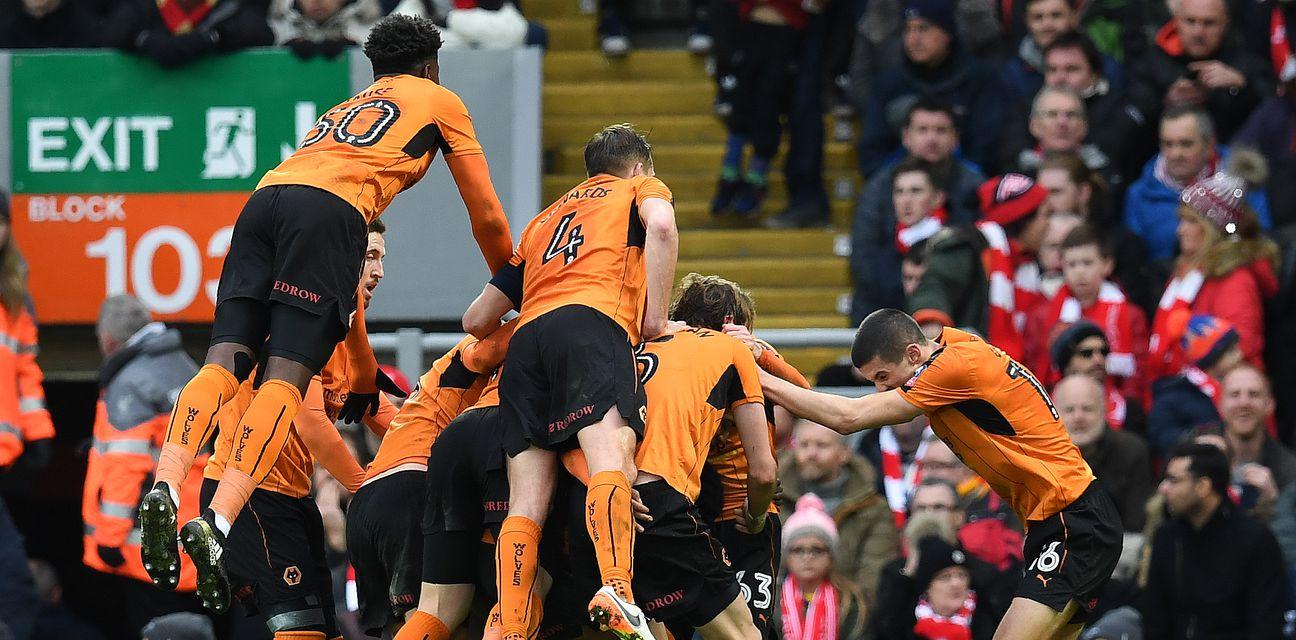 Slavlje igrača Wolverhamptona (Foto: AFP)