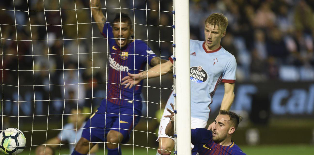 Detalj s utakmice Celta - Barcelona (Foto: aFP)